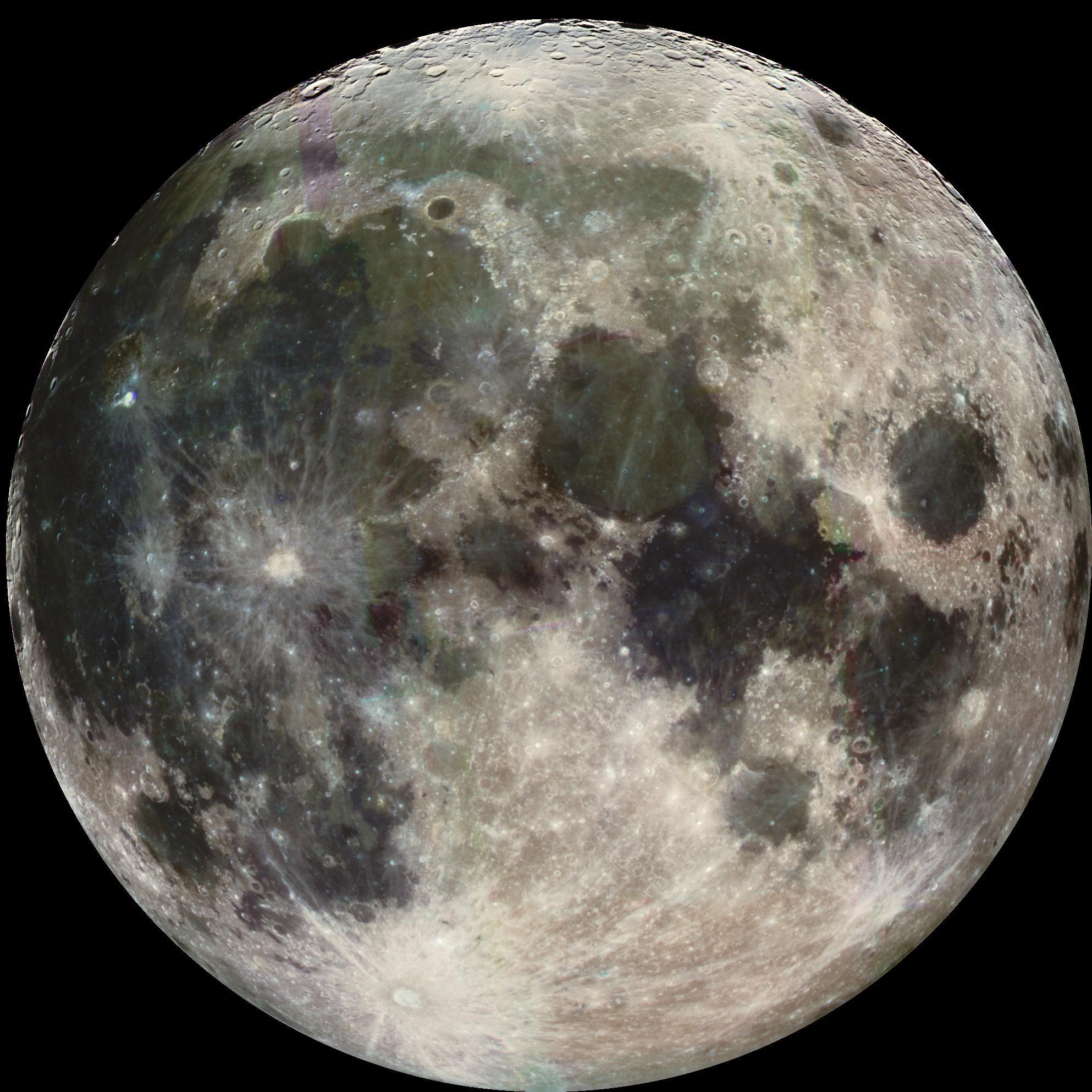 Full Moon. Courtesy of NASA/JPL/USGS