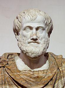 Aristotle. Courtesy of Wikimedia.