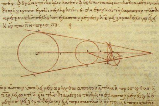 Aristarchus working. Courtesy of Wikimedia.