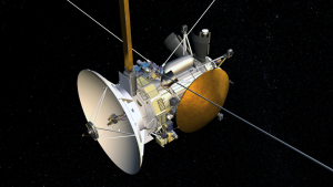 Cassini - Computer generated image of the spacecraft. Credit: NASA