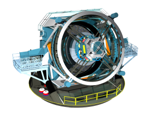 Three-dimensional rendering of the baseline design for the LSST http://www.lsst.org/gallery/telescope-rendering-2013 LSST
