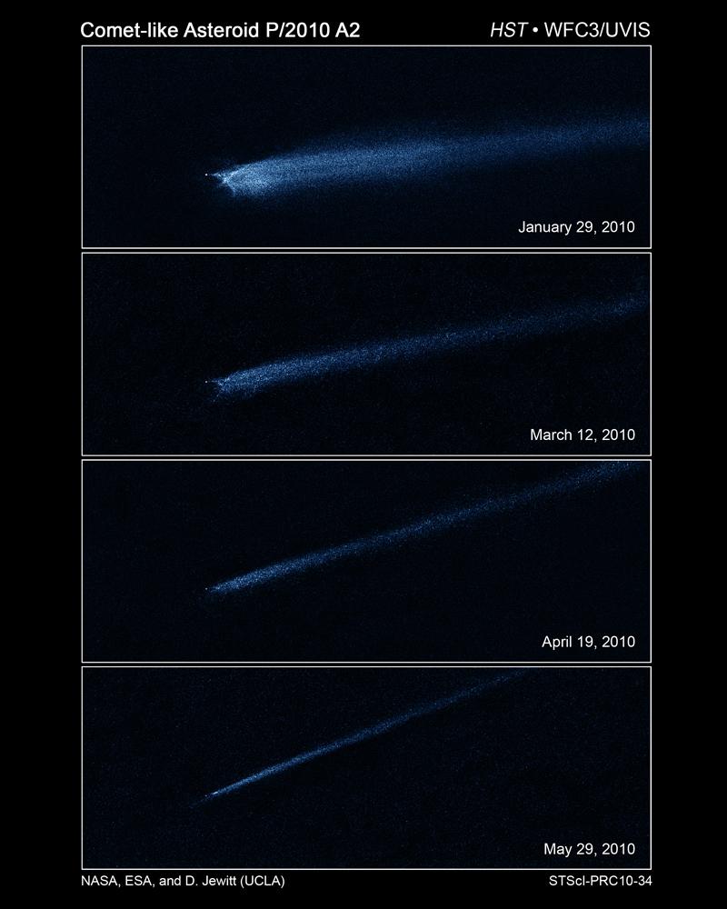 5 known asteroids - photo #20