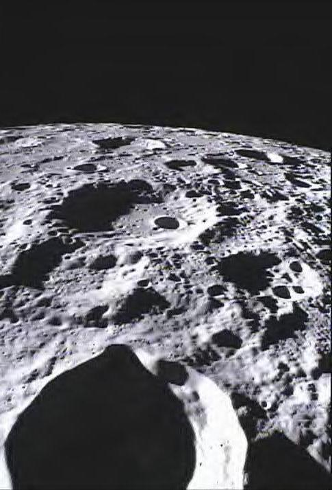 The Far Side of the Moon. Courtesy of NASA/Caltech-JPL/MIT/SRS.
