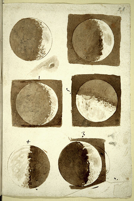 Galileo's Phases of The Moon. Copyright 2009 IMSS
