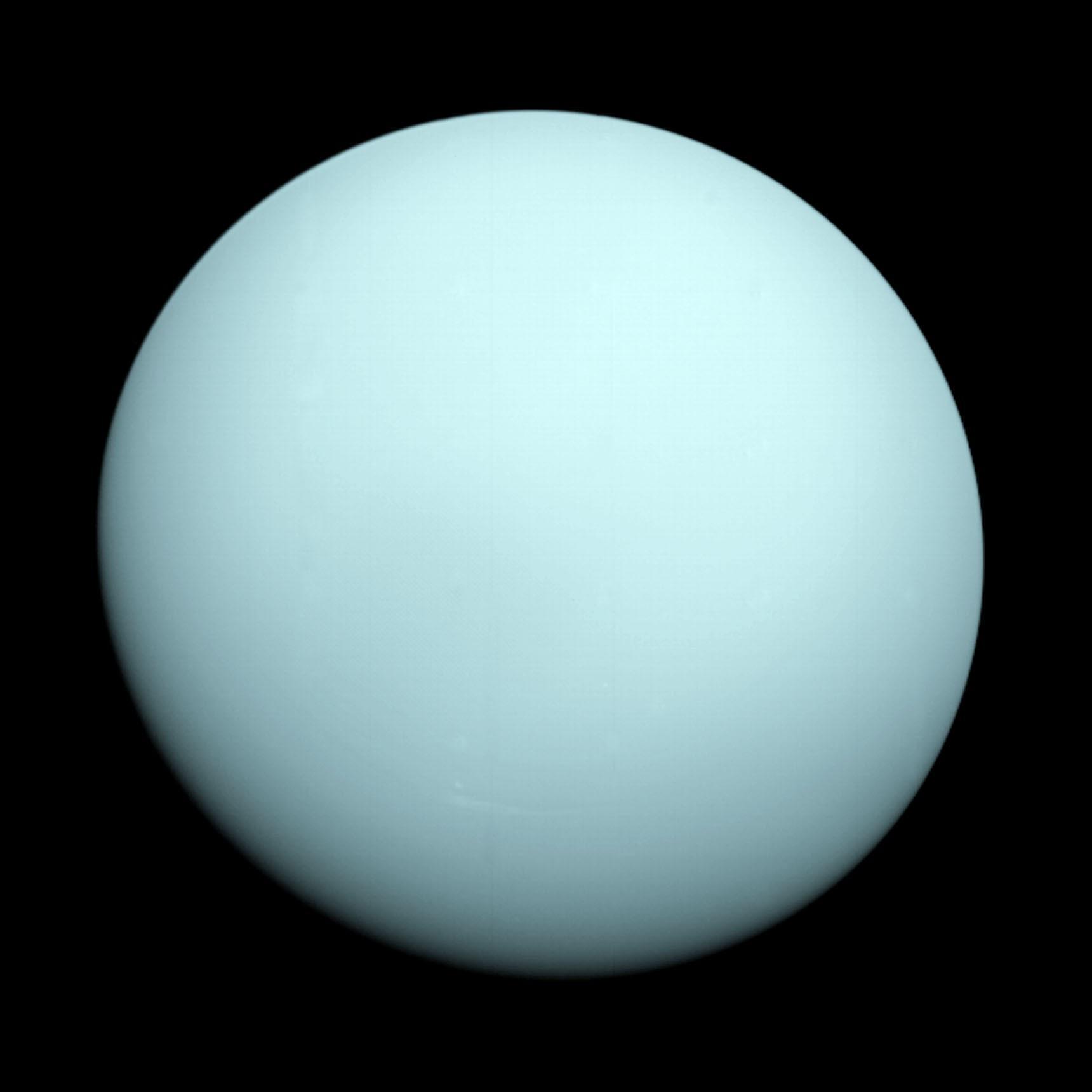 Uranus. Credit: NASA/JPL-Caltech.