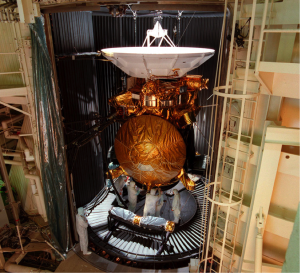 Figure 6: The Cassini Spacecraft During Vibration and Thermal Testing in 1996 NASA.gov (2016). Credit NASA