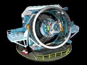 Three-dimensional rendering of the baseline design for the LSST http://www.lsst.org/gallery/telescope-rendering-2013 LSST