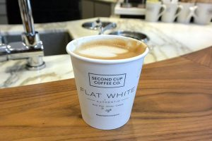 A Second Cup Flat White